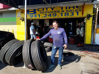Large Commercial truck tires for sale in Bradenton and Sarasota, Manatee County